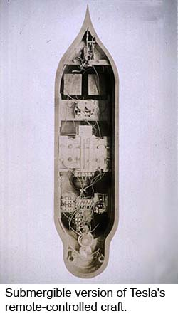 Submergible version of Tesla's <br />