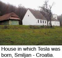 House in which Tesla was born, Smiljan - Croatia