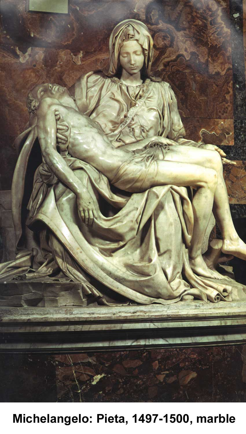Michelangelo: Pieta (sculpture