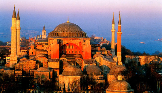 Hagia Sophia Outside View