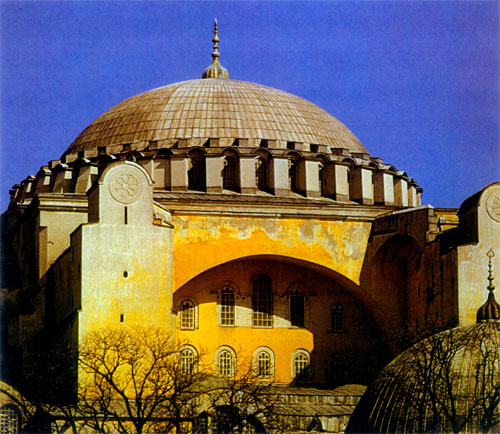 Great Dome of the Church of Sainta Sophia