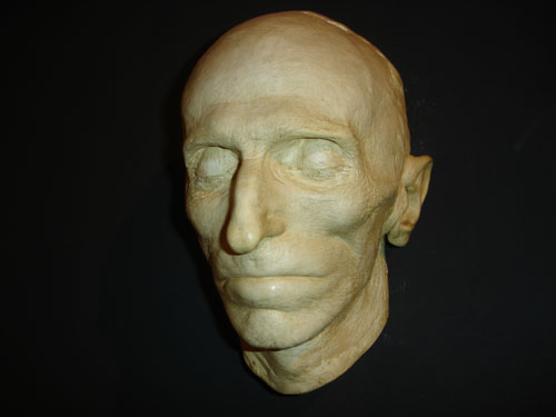 Nikola Tesla Death Mask