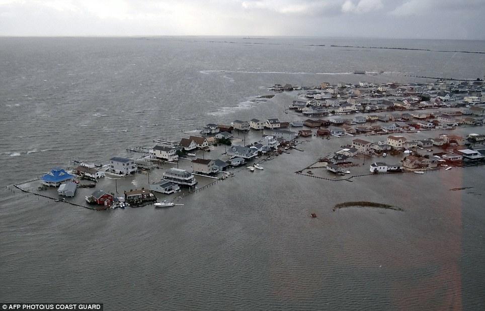jersey city underwater