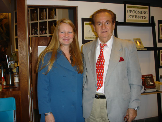 Dr. Ljubo Vujovic and Samantha Hunt