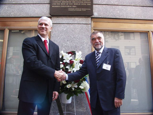President Tadic and President Mesic