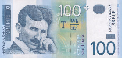 Serbian Tesla Money