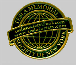 Tesla Memorial Society of New York Logo
