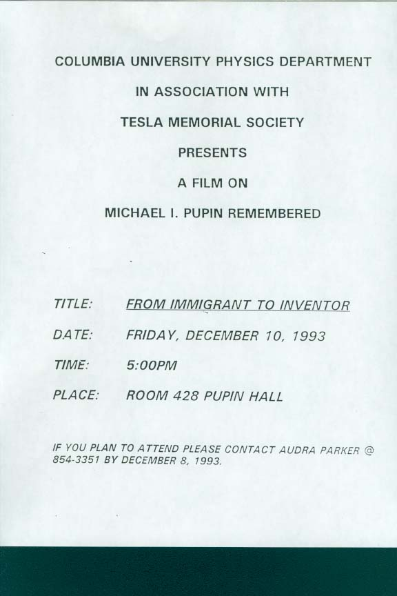 michael pupin from immigrant to inventor pdf