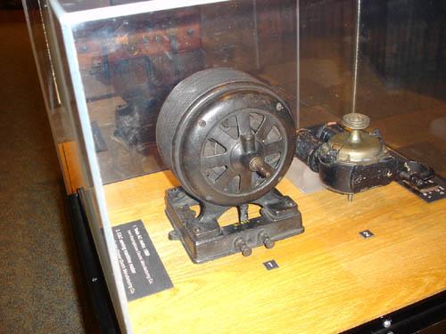 Tesla AC Motor Smithsonian