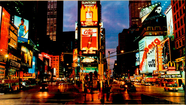 Above: Times Square At Night, Lit By Teslau0027s Alternating Current  Electricity And Neon Lights. Tesla Discovered Neon Lights And Had An  Exhibit In The ... Great Ideas