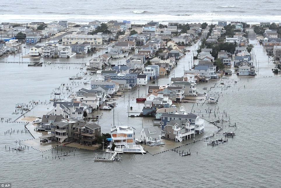 Electricity and Disaster - Superstorm Sandy devastated New Jersey