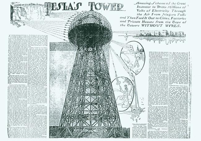 Tesla Wireless Power >> Nikola Tesla S Idea Of Wireless Transmission Of Electrical Energy